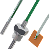 Sensors with thermocouple cable