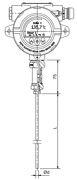 resistance thermometer topx-i